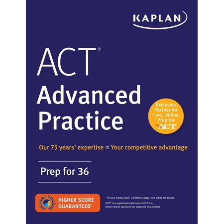 ACT Advanced Practice : Prep for 36