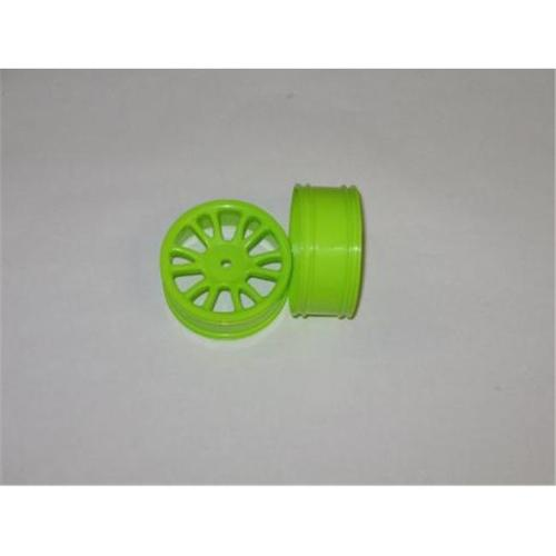 Redcat Racing 85005g Green Rear Wheels - For Redcat RC Racing Vehicles