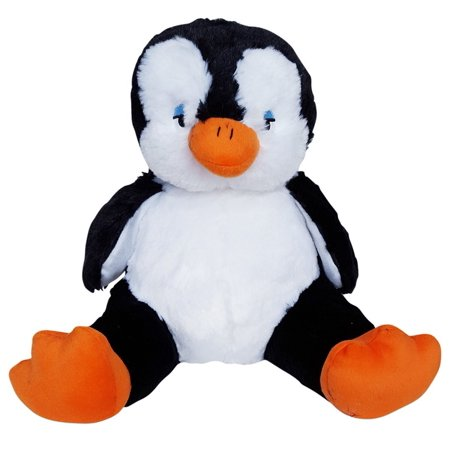 Cuddly Soft 16 inch Stuffed Black & White Penguin - We stuff 'em...you love 'em!