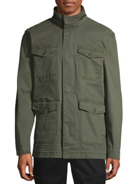 George Men's and Big Men's Field Jacket, up to Size 5XL