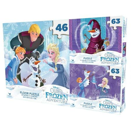Three Puzzles In 1 Set   Frozen