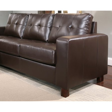 Enjoyable Abbyson Taylor Leather Reversible Sectional And Ottoman Ncnpc Chair Design For Home Ncnpcorg
