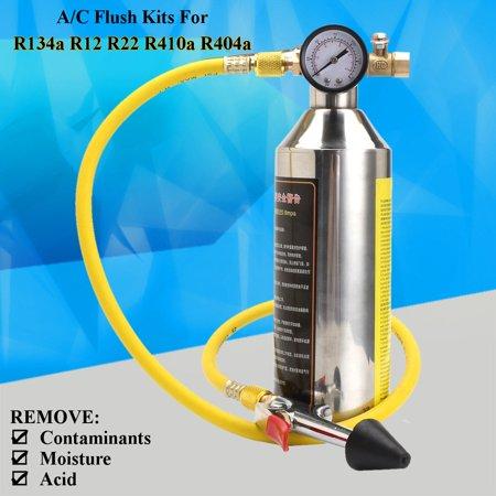 1000ML A/C NVH-399 Flush Kits Canister Clean Tool for R134a R12 R22 R410a  R404a