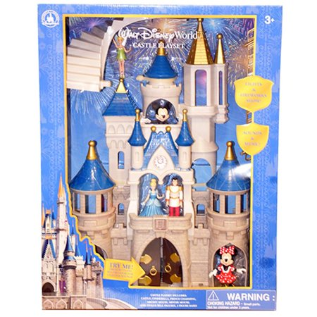 Disney Parks Mickey & Friends Cinderella Castle Play Set New Edition New w Box (Cinderella In The Cardboard)