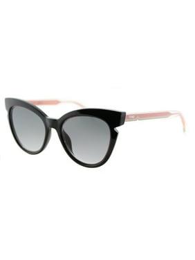 382319cde02 Product Image Fendi Fendi Lines FF 0132 N7A Womens Cat-Eye Sunglasses
