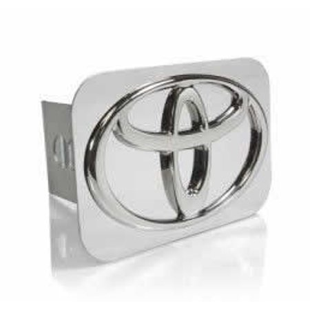 AUTO GOLD # TTOYC TOYOTA Chrome TRLR HITCH (Retired Hitch Cover)