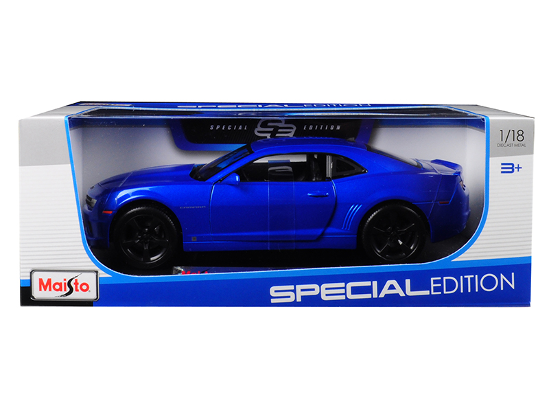 2010 Chevrolet Camaro RS SS Light Blue with Black Wheels 1 18 Diecast Model Car by Maisto by Maisto