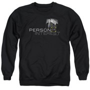 Person Of Interest Logo Mens Crewneck Sweatshirt