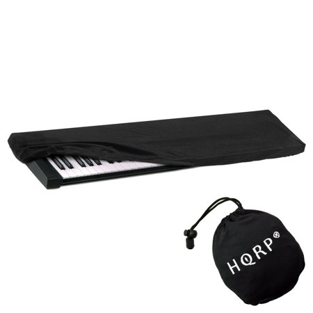 hqrp keyboard dust cover black for yamaha motif xf7 piaggero np 31 np 11 np v60 np v80 s70. Black Bedroom Furniture Sets. Home Design Ideas