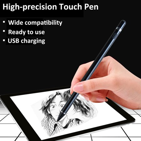 Tablet Pen Pencil New Stylus Capacity Touch Pencil Active Capacitive Ultra-fine High-precision Painting Pen Phone Tablet Android Universal Capacitor - image 3 de 7