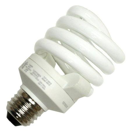 Tcp Proseries Full Springlamp Spiral Compact Fluorescent Lamp T3, 18 Watts, 6500k, 82 Cri, E26 Base, 110 Volts