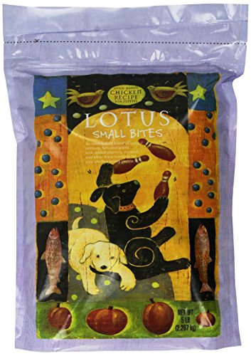 Lotus Small Bite Dry Puppy Food 5 Lb. (Pack of 1) by Lotus Pet Foods