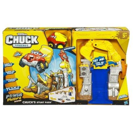 Playskool Tonka Chuck & Friends Chuck's Stunt Park