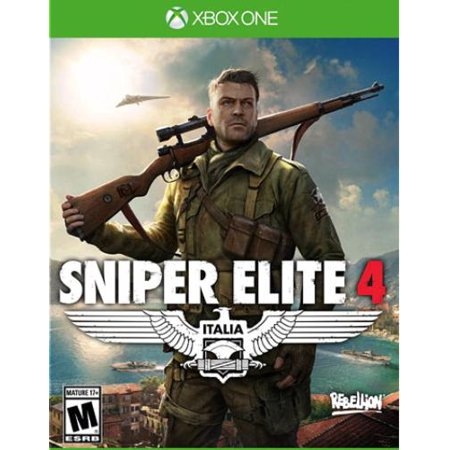 Sniper Elite 4 (Xbox One) Sold Out, 812303010569 (The Best Sniper Games)