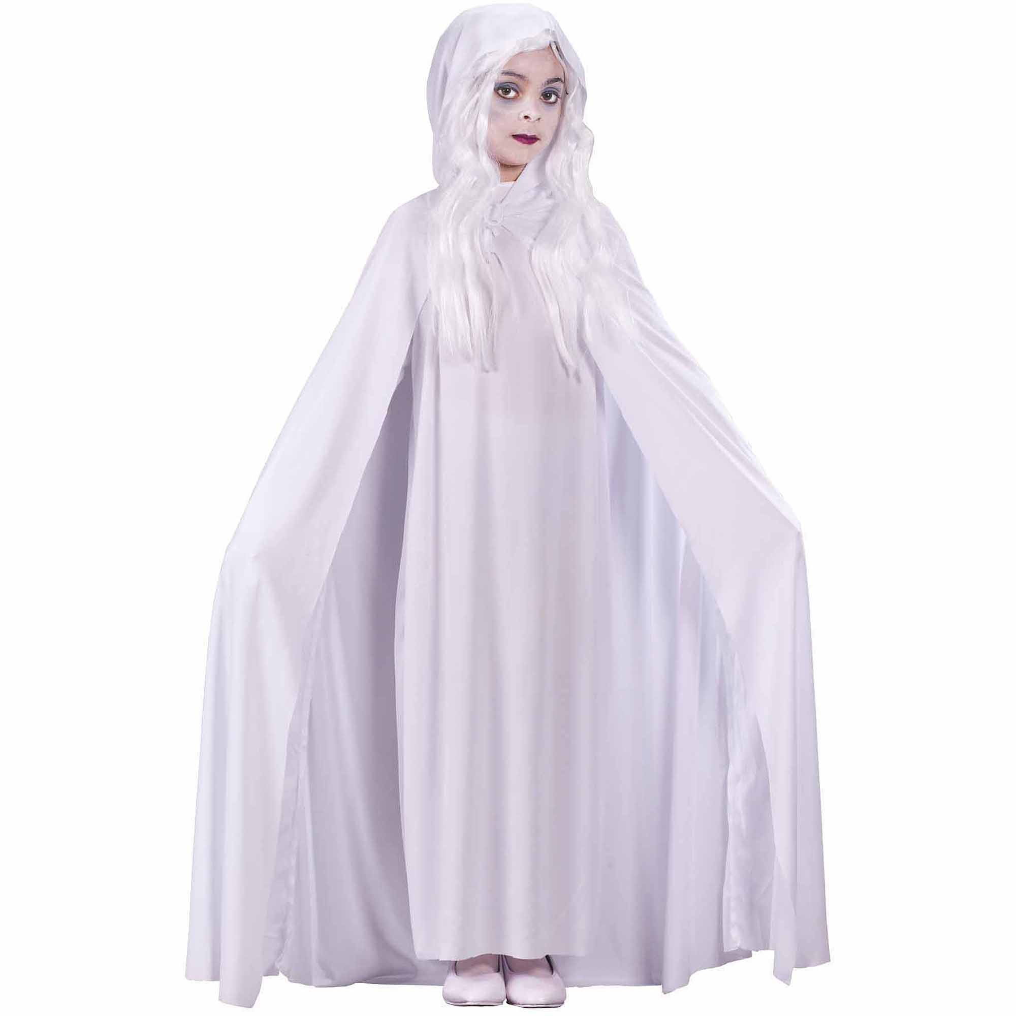 Childrens Kids Ghost Fancy Dress Costume Halloween Boys Girls Outfit M
