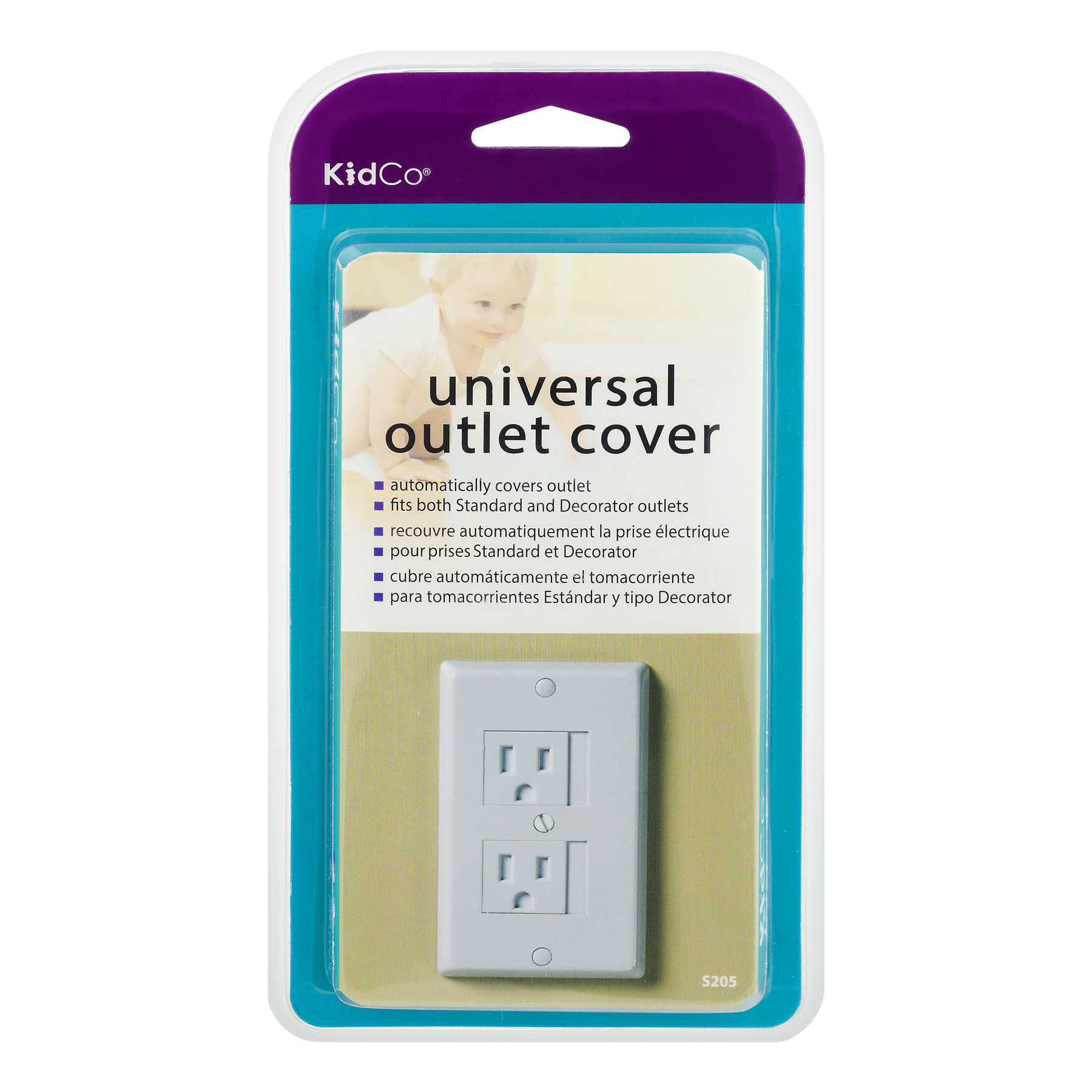 Kidco Universal Outlet Cover, 1.0 CT