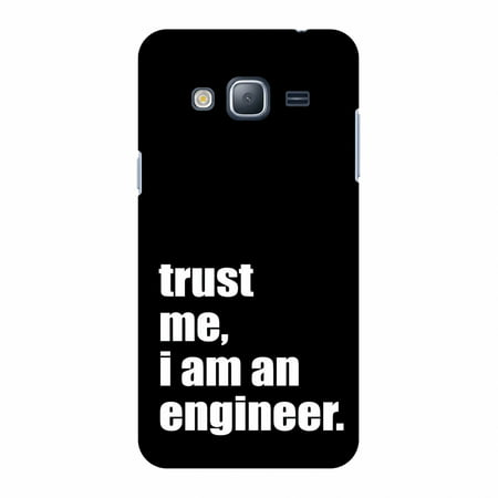 Samsung GALAXY J3 Case, Samsung GALAXY J3 2016 Case - Proud To Be A Engineer 1,Hard Plastic Back Cover. Slim Profile Cute Printed Designer Snap on Case with Screen Cleaning Kit