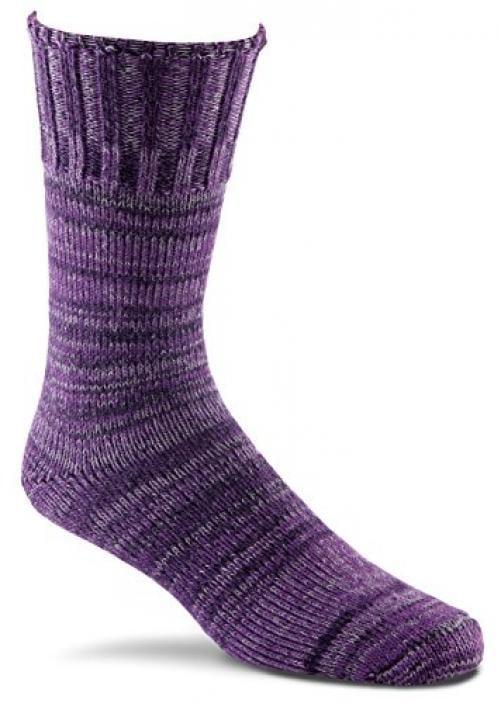 Fox River New American Ragg Adult Medium weight Crew Socks, Small, Midnight