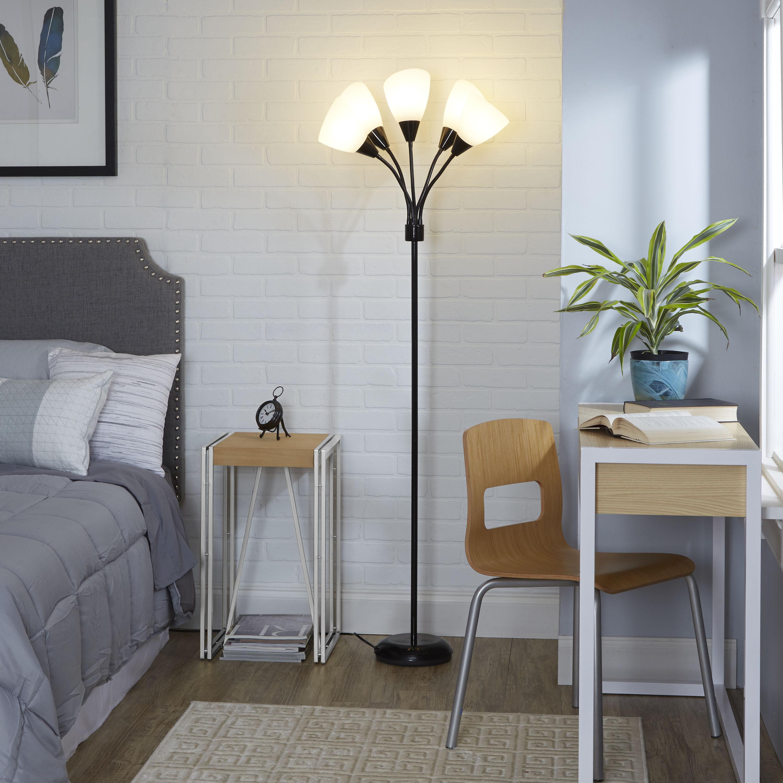 Mainstays 5-Light Floor Lamp, Multiple Colors