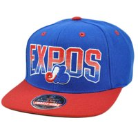 35ada3cc214 Product Image MLB American Needle Retro Flat Bill Snapback Cap Hat Hayes  Wool Montreal Expos
