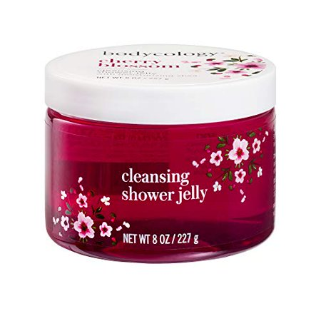 Bodycology Shower Jelly, Gentle Cleanser - Cherry Blossom - 8 oz - Cherry Blossom Baby Shower