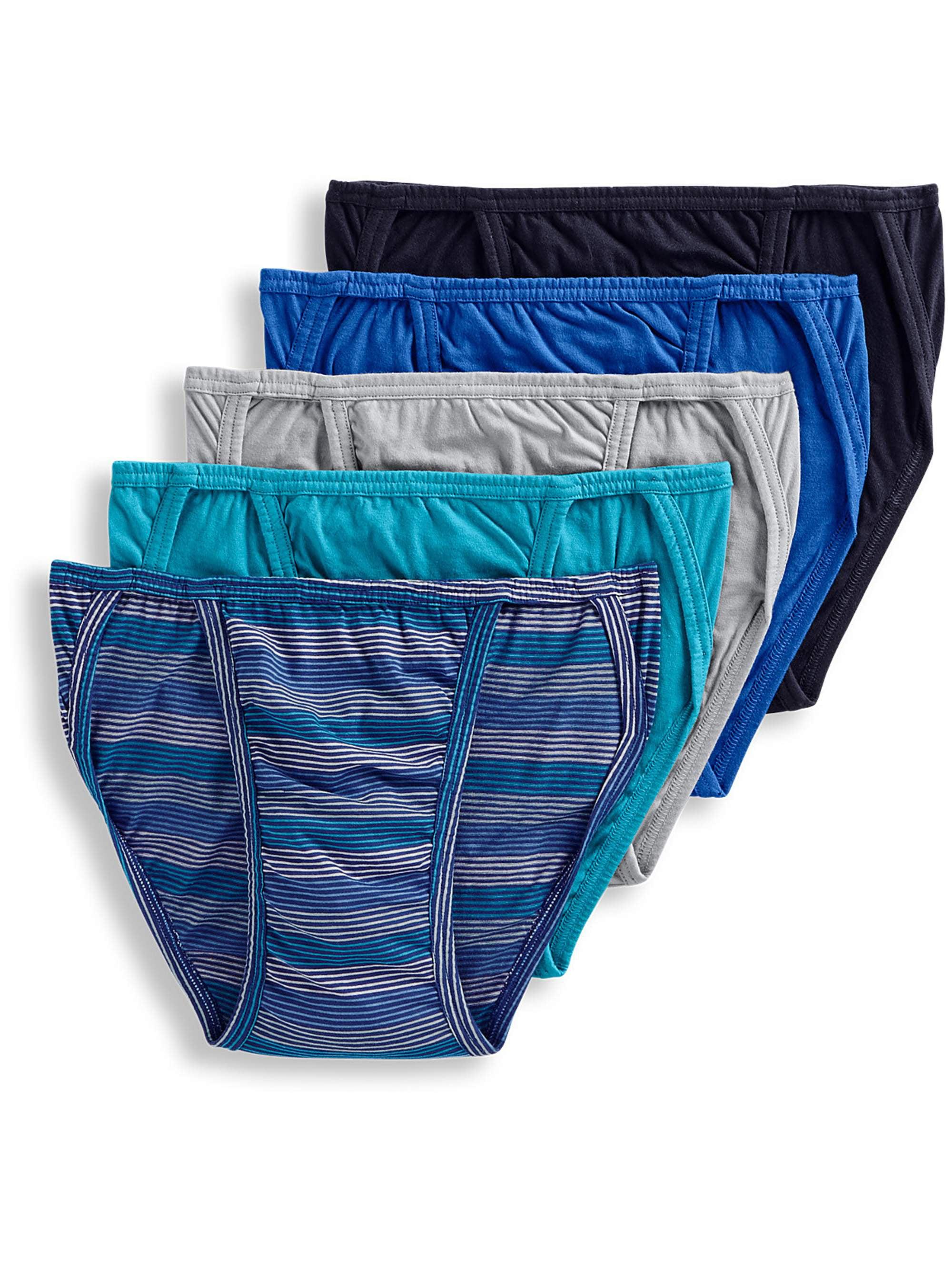 Jockey Life® - Men's 24/7 Comfort Cotton String Bikini - 5 pack -  Walmart.com - Walmart.com