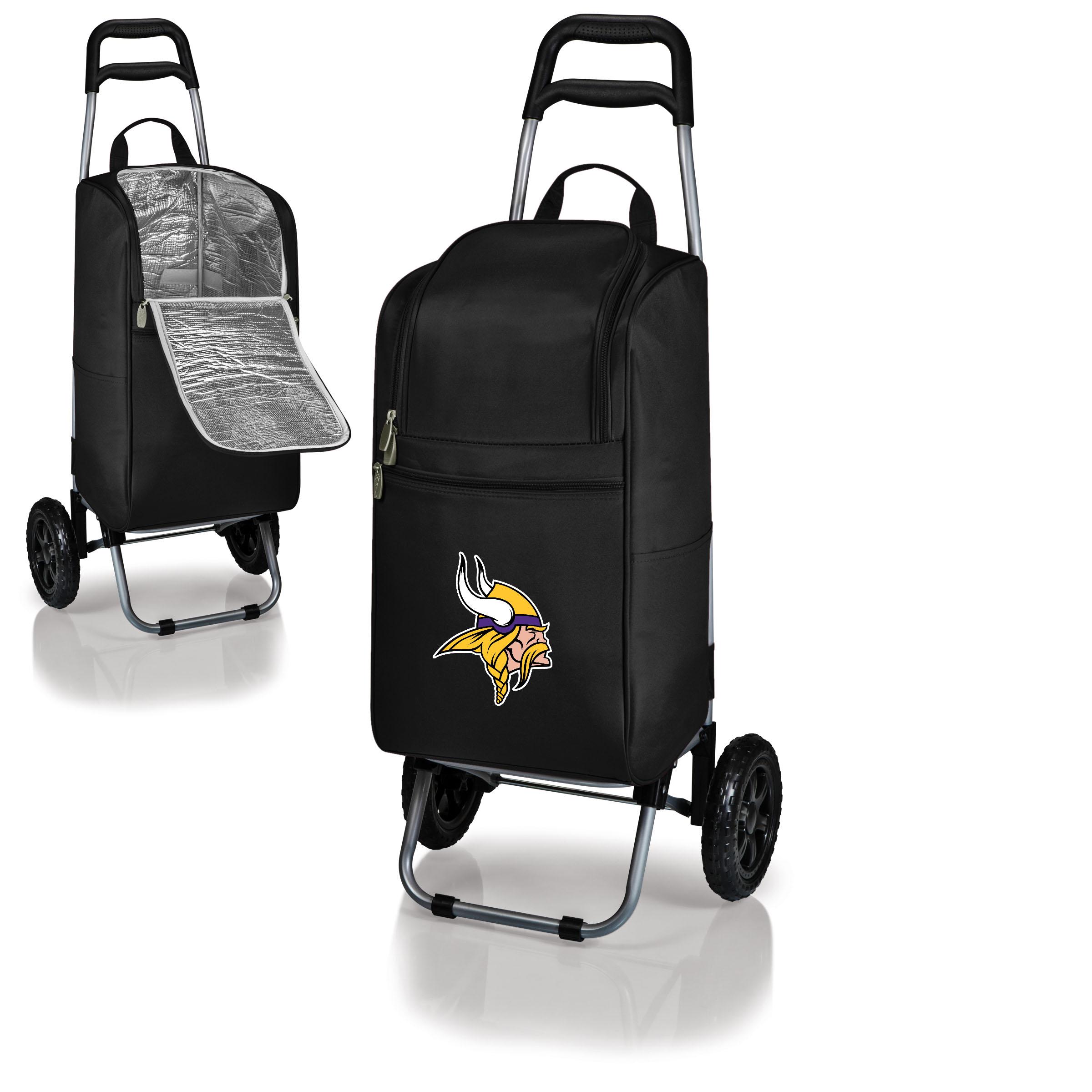 Minnesota Vikings Cart Cooler - Black - No Size