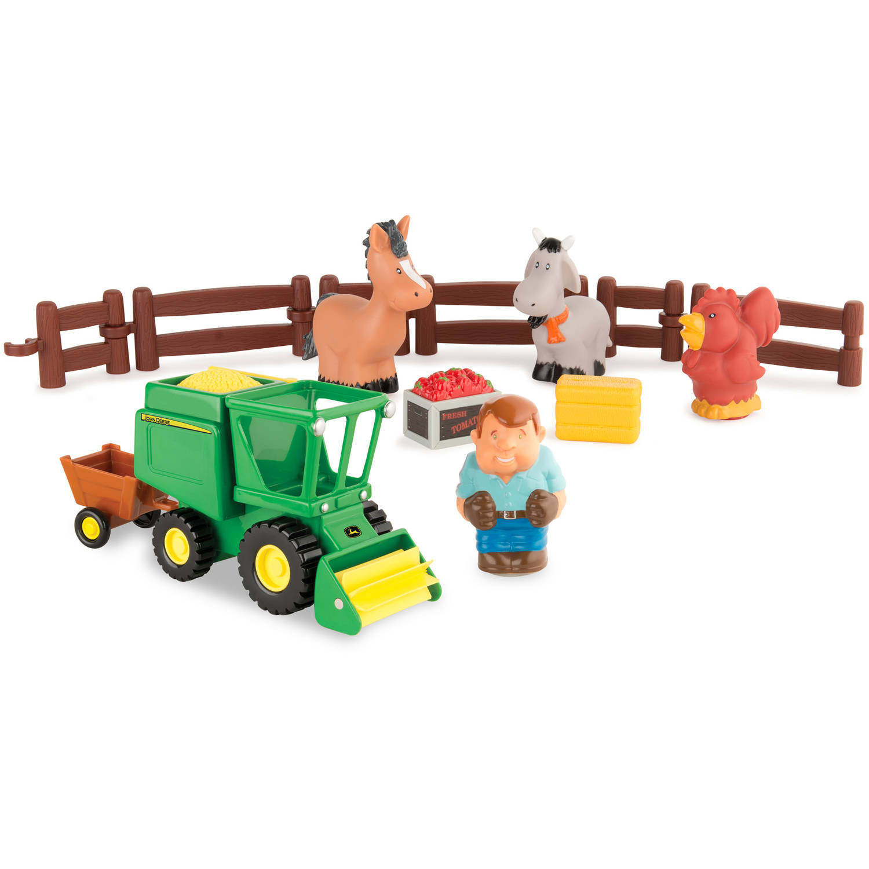 John Deere 1st Farming Fun, Harvest Time Playset