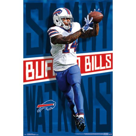 lowest price d14e5 02325 Sammy Watkins Buffalo Bills NFL Football Sports Poster 22x34 ...