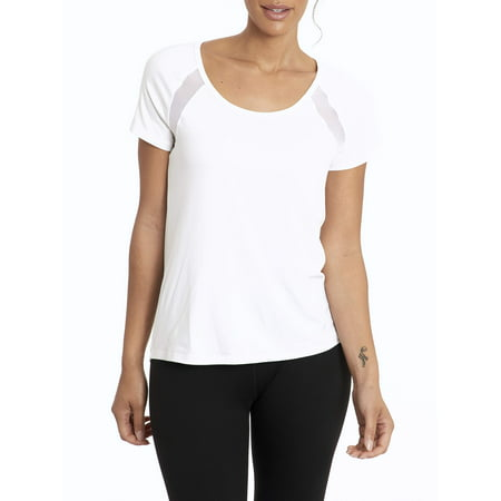 Bally Women's Active Contour T-Shirt With Cut-Out Back Detail