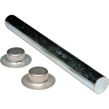 Tie Down Engineering Zinc-Plated Roller Shaft with 2 Pal Nuts (Roller Shaft)