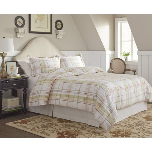 170 GSM (5 oz) Tristan Flannel 2-Piece Duvet Set