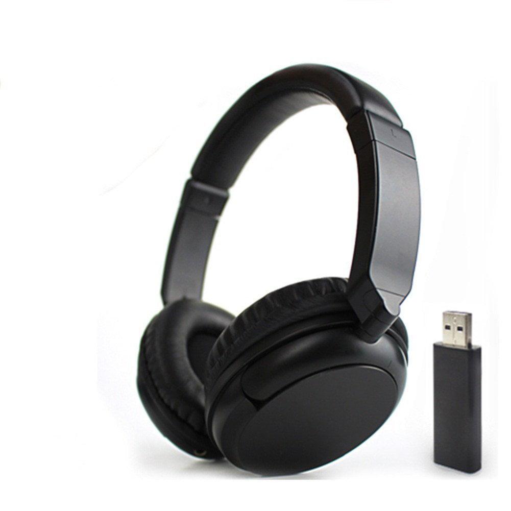 ATC Comfortable Hi-fi Stereo Over-Ear Wireless FM 3.5mm A...