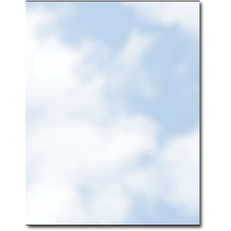 Soft Clouds Letterhead Paper - 80 - Cloud Paper