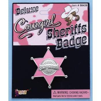 ACC-COWGIRL SHERIFF BADGE