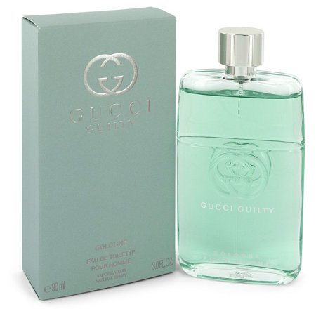 Gucci Guilty Cologne by Gucci Eau De Toilette Spray 3 oz for Men