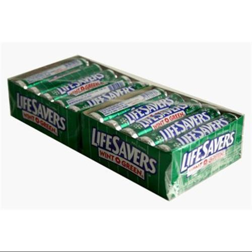 Lifesavers Wint-O-Green Candy 20 pack (14 ct per pack) (Pack of 6)