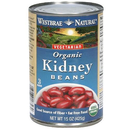 Westbrae Kidney Beans, 15 oz (Pack of 12)