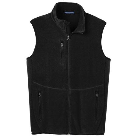 Fleece Print Vest - Port Authority Men's Warmth Full-Zip Fleece Vest