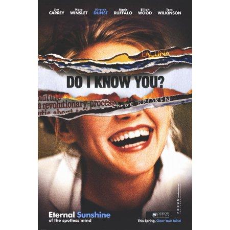Eternal Sunshine of the Spotless Mind (2004) 11x17 Movie