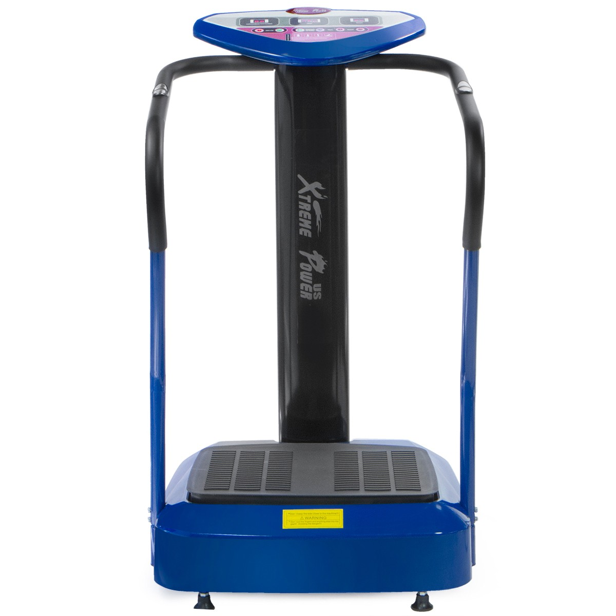 XtremepowerUS 2000W Crazy Fit Fitness Whole Body Vibration Plate Exercise Massage Machine Blue