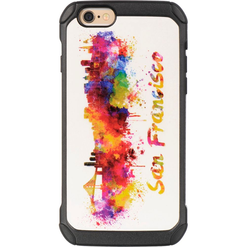 Insten Hard Dual Layer TPU Case For Apple iPhone 6 / 6s - Colorful - image 2 de 3