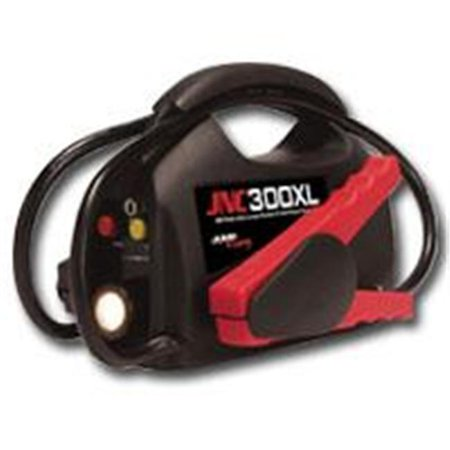 SOLAR SOLJNC300XL Jump-N-Carry Ultra-Portable Jump Starter with Flashlight - 900 Peak Amps