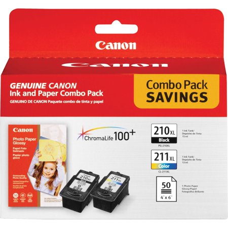 Best Phono Cartridge (Canon, CNMPG210CL211, PG210XL/CL211XL Ink/Photo Paper Pack, 3 / Pack)