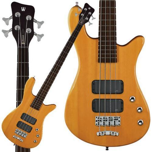 Warwick RockBass Streamer Standard 4-String Bass Guitar (Honey Violin)