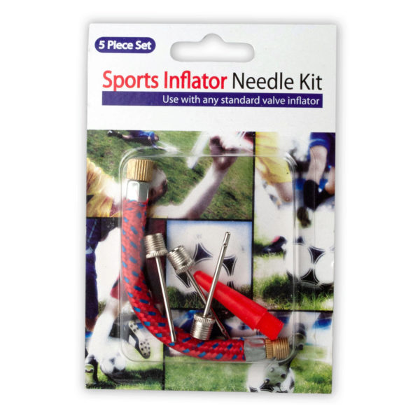 Sports Inflator Needle Kit (Pack Of 24)