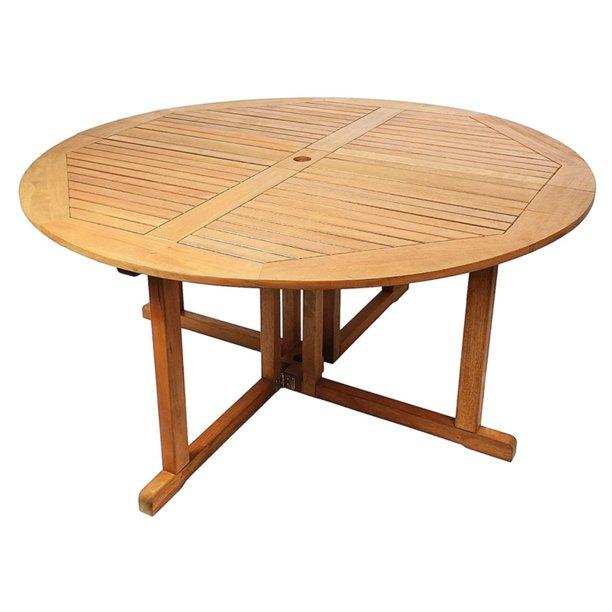 Achla Designs Round Folding Dining Table Walmart Com Walmart Com