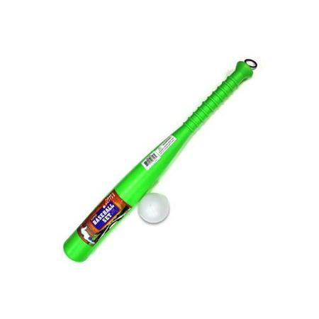 Plastic Baseball Bat and Ball - Set of 12](Plastic Bats)