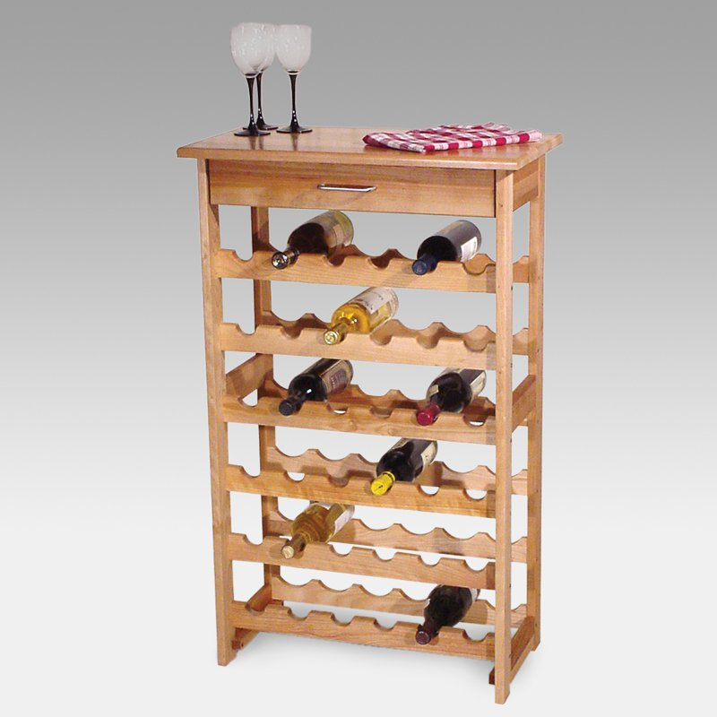 Detroit 36 Bottle Floor Standing Wine Rack Walmartcom