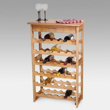 Detroit 36 Bottle Floor Standing Wine Rack Walmartcom